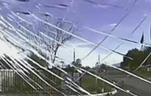Graphic video: Cop rams car into suspect