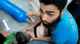 Brutal images of a sarin gas attack in Syria