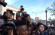 Students join Freddie Gray protests