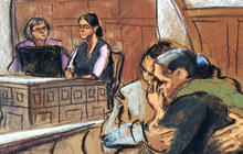 Boston Marathon bomber cries as aunt testifies in his defense