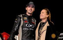 The quintessential NASCAR mom