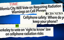 Can you get radiation poisoning from your cellphone?