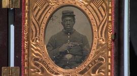 A slave who became a soldier