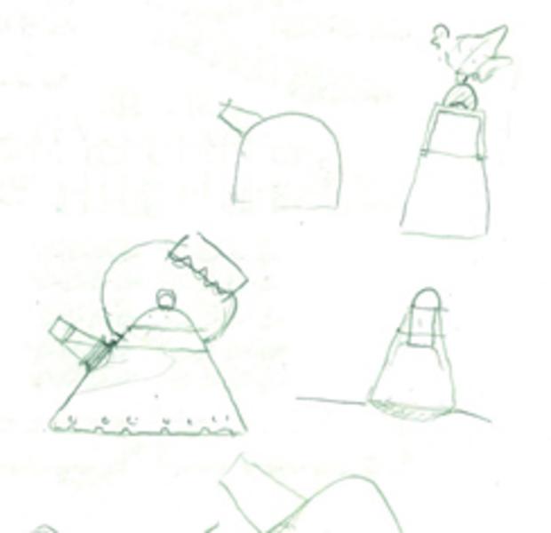 迈克尔·格雷夫斯早期草图茶水壶,244.jpg
