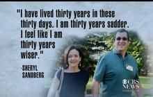 Sandberg's Personal Message