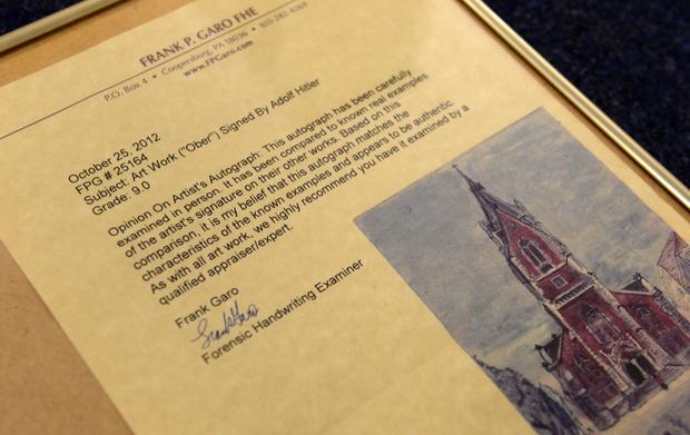 Hitler's art sells for nearly $450,000