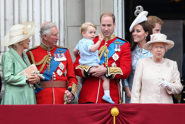 Prince George turns three
