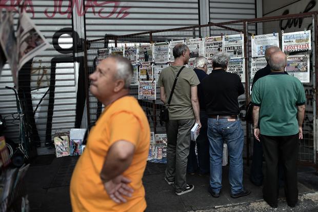 Greece debt default crisis
