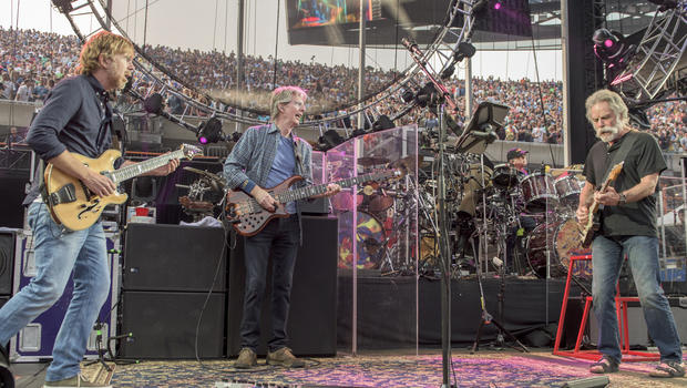 members of the grateful dead and john mayer forming new supergroup cbs news. Black Bedroom Furniture Sets. Home Design Ideas