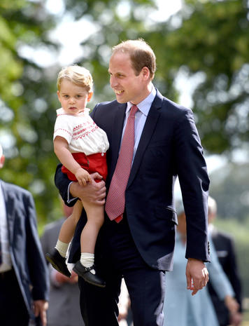 Prince William through the years