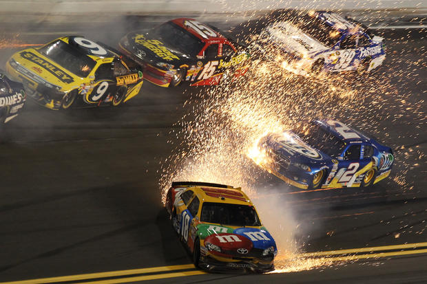 Gettyimages on Nascar Crashes