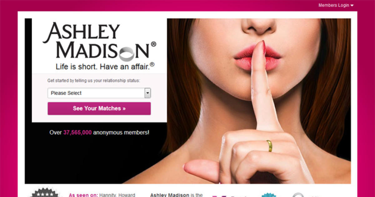 ashley madison website login