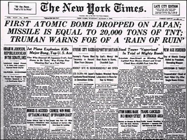 the history of dropping two atomic bombs in hiroshima japan 01042018  history of world war ii: hiroshima  well done documentary on the two atomic bombs dropped on japan to  now this in no way makes dropping the bombs o.