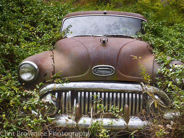 A museum of junked cars