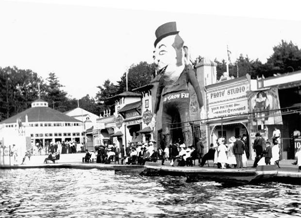 Early photos of amusement parks