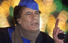 The death of Qaddafi