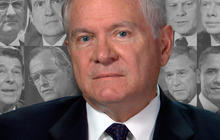 Defense Sec. Robert Gates plays a revealing game