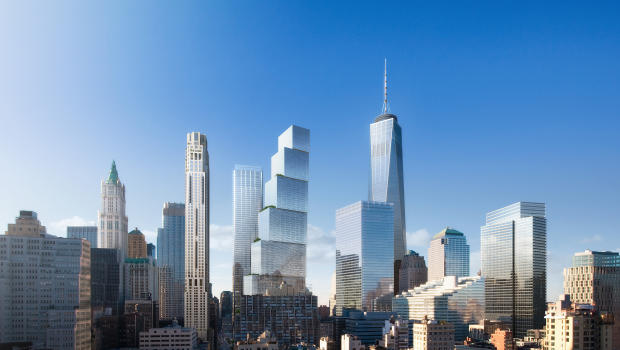 Two World Trade Center design