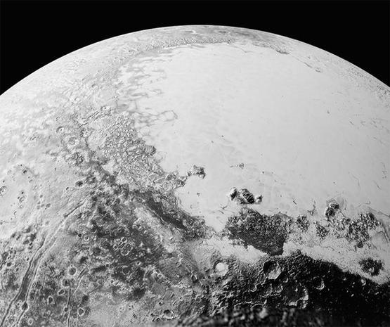 Astonishing Pluto in sharp focus