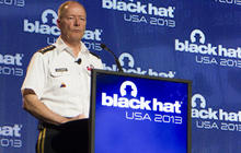 Gen. Alexander heckled at Black Hat