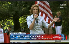 Carly Fiorina surging in the polls
