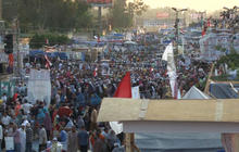 Confrontation looms at pro-Morsi protests in Cairo