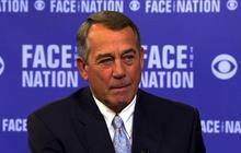 House Speaker John Boehner: There will not be a government shutdown