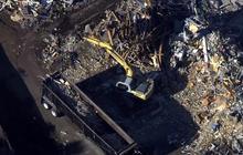 Demolition begins at Sandy Hook
