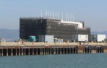 What is Google building on Treasure Island?