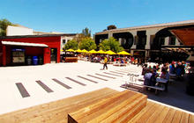 Candy, arcade, barber: Welcome to Facebook headquarters