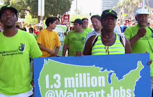Walmart protests held in 15 cities across the U.S.