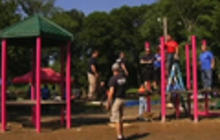 Playground built in honor of slain Sandy Hook teacher
