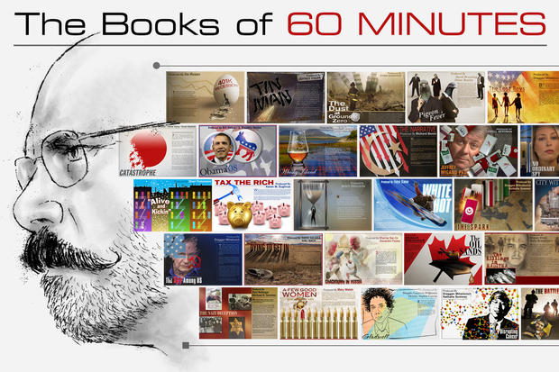 Bob's books: A gallery of 60 Minutes art