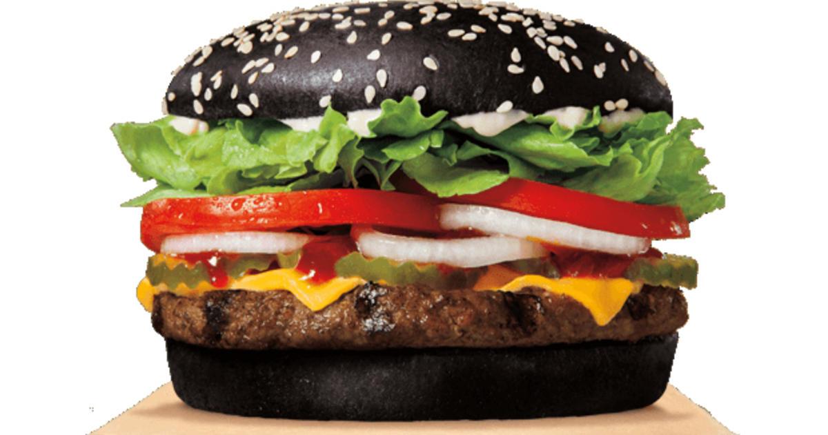 Black burger, green poop: Why Halloween Whopper has odd effect - CBS News
