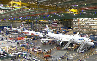 100 years of Boeing's aviation innovation