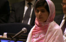 Malala Yousafzai addresses United Nations