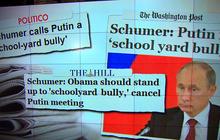 "Sen. Schumer: Putin behaving like ""schoolyard bully"""