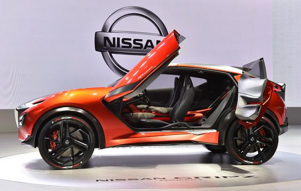 New Nissan Gripz Concept  Wonderful And Wacky Wheels At The