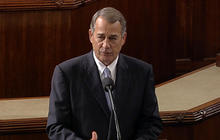 Boehner says goodbye to House colleagues