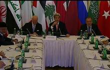 John Kerry attempts to broker Syria ceasefire in Vienna talks