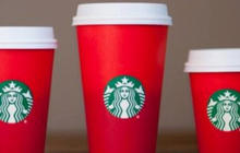 "Starbucks holiday cup sparks ""war on Christmas"" accusations"