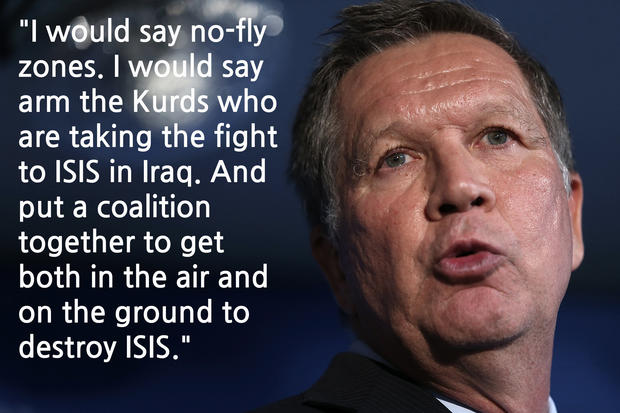 Where the candidates stand on fighting ISIS
