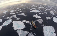 Scientists believe melting polar ice could speed climate change