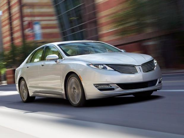 2014 lincoln mkz hybrid 5 affordable gas sipping used luxury cars cbs news. Black Bedroom Furniture Sets. Home Design Ideas