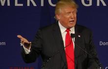 Crowd applauds Trump's proposal
