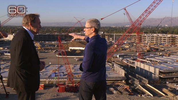 "Inside Apple's new ""spaceship"" headquarters"