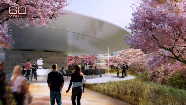Apples spaceship  Inside Apples new spaceship headquarters