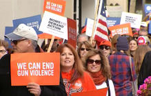 Groups fighting gun violence through 401(k)s
