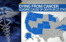 Cancer leading cause of death in 22 states
