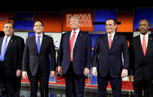 Establishment candidates try to take on Trump and Cruz